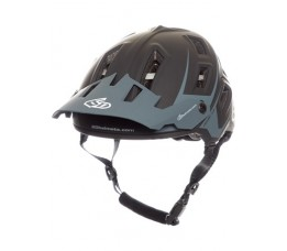 6d Helm  Atb-1t Evo Black.grey Xs/s