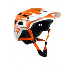 6d Mtb Helm  Atb -1t Evo Orange/white M/l