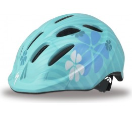 Specialized Helm Kind  Small Fry Teal Flowers