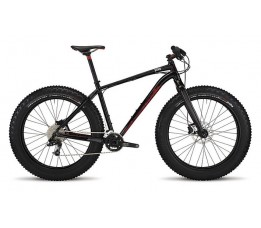 Specialized Fatboy Expert, Black/flo Red