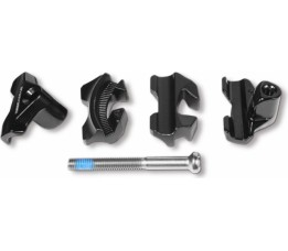 Specialized Alien Head Carbon Rail Clamp Blk 7x9mm