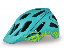Specialized Helm Mtb Dames  Ambush Turquoise/hyper Green M