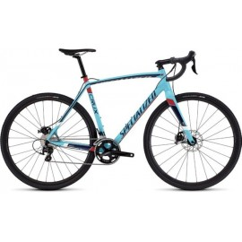 Specialized Crux Sport E5, Ltblu/navy/red/black/white