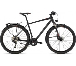 Specialized Crossover Expert Disc, Black/red