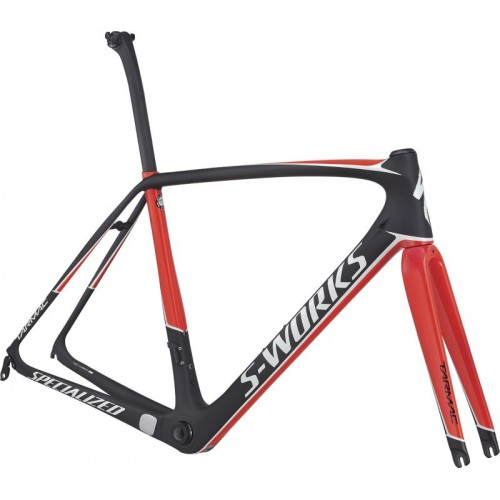 Specialized Sw Tarmac Frameset, Carbon/rocketred/metalic White