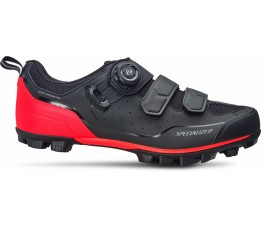 Specialized Comp Mtb Shoe Blk/rktred 44.5