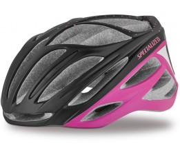 Specialized Helm Aspire Dames Black/acdpink Dots M