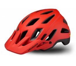 Specialized Helm Ambush Comp Met Angi + Mips Rocketred/black M
