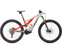 Specialized Levo S-works, Dove Grey/rocket Red