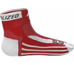 Sl13 Sock Red/white S=38-40