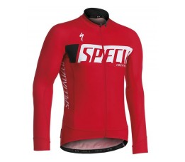 Specialized Shirt Authentic Team Lange Mouw M/protectie Red M