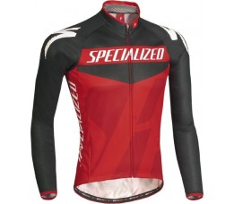 Specialized Fietsshirt Lange Mouw Specialized Pro Racing Black/red L
