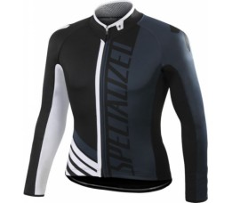 Specialized Shirt Lange Mouw Element Pro Racing Black/anthra/white L