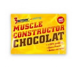 3 Action Muscle Constructor Chocolate 40gr