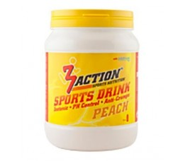 3 Action 3 Action Sports Drink 500gr - Peach