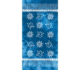 Matt Buff  Scarf Pareo Blue