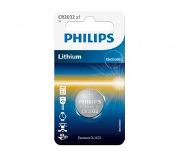 Philips Batterij Philips Knoop Cr2032 Lithium (1)