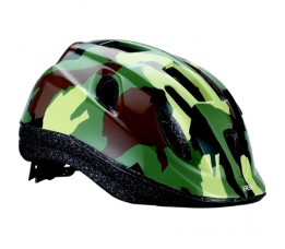 Bbb Bhe-37 Helm Boogy Camouflage S Groen