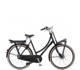 Cortina E-transport, Jet Black Matt