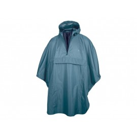 Agu Agu Poncho Grant Sea Blue One Size