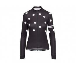 Agu Agu Shirt Lm Dot Dames Black M
