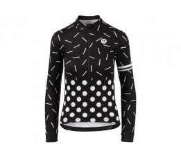 Agu Agu Shirt Lm Sprinkle Dot Dames Black/white S