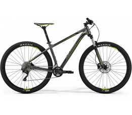 Merida Big Nine 300 Anthracite/green, Grijs