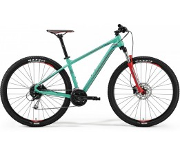 Merida Big Nine 100 Green/red, Groen