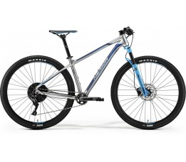 Merida Big Nine 600 Silver/blue, Grijs