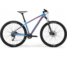 Merida Big Nine 300 Blue/red, Blauw