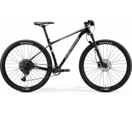 Merida Big Nine Limited Metallic Black / Matt Dark Silver, Metallic Black