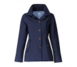 Short Coat Happy Rainy Days Claude Navy L